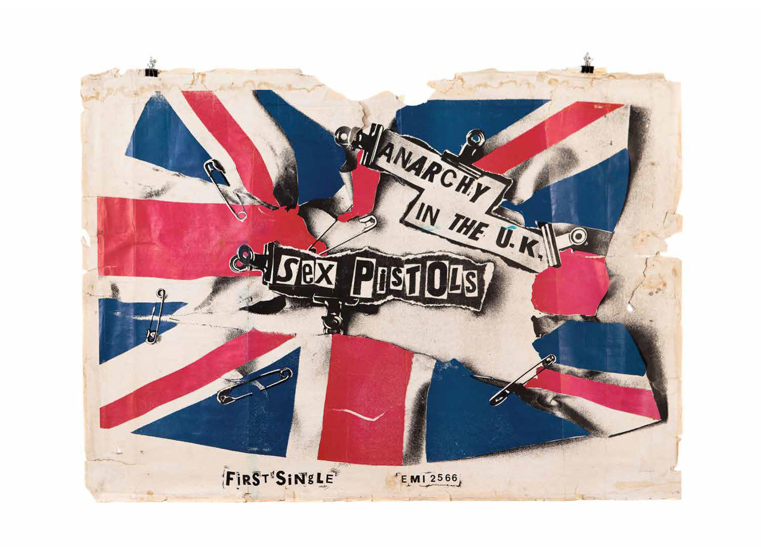 Sex Pistols, Anarchy in the UK Poster
