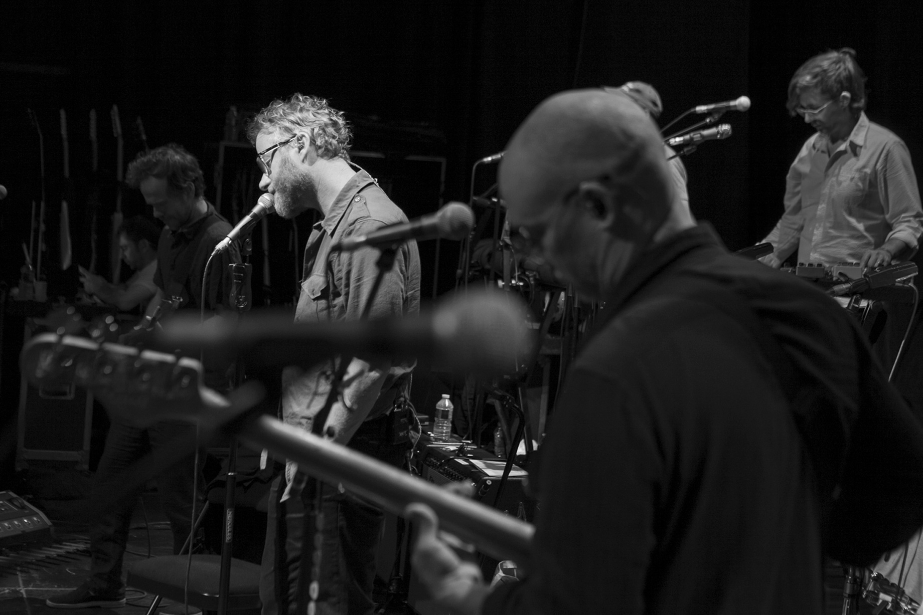 The National, Rehearsals, Paris 2017