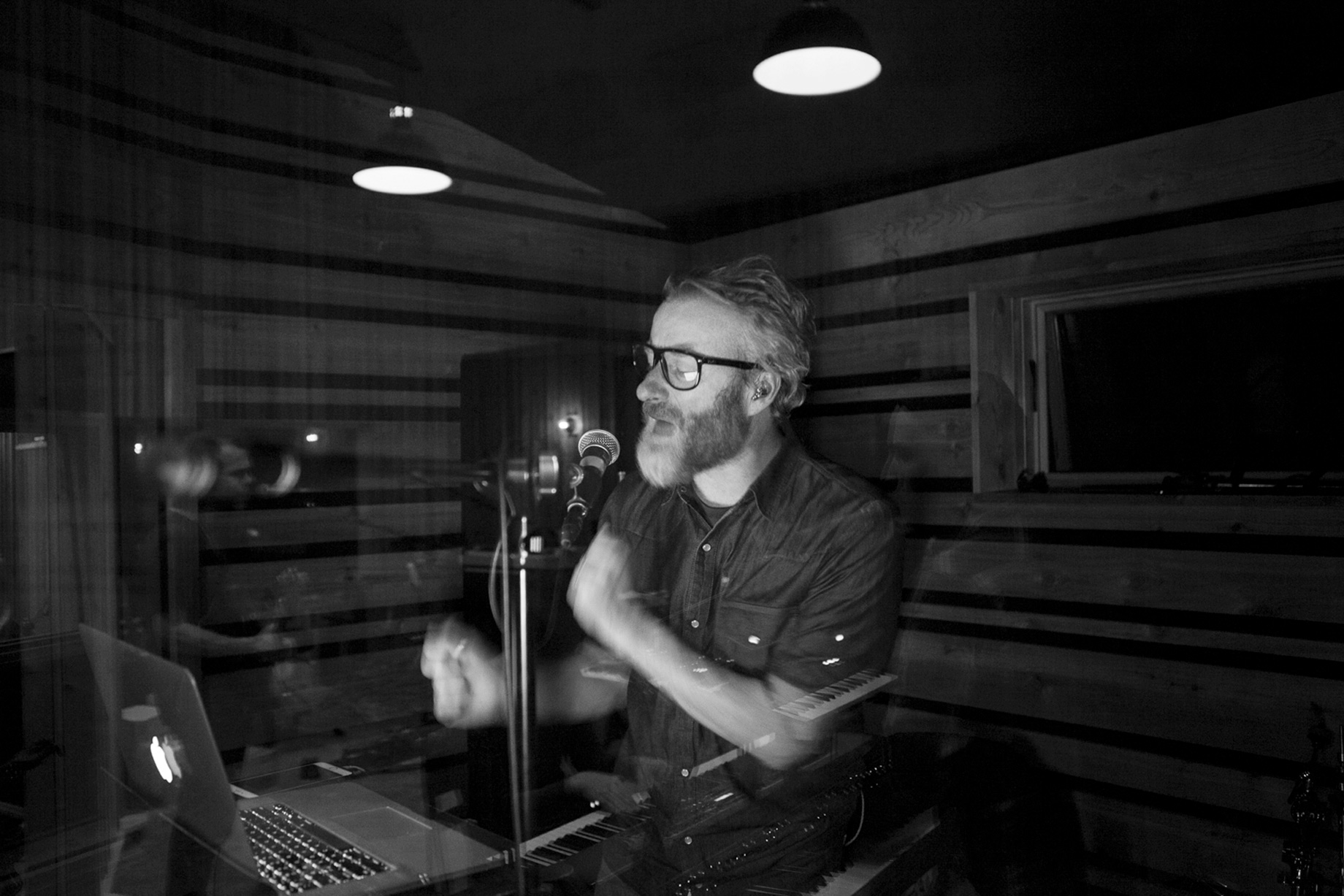 Matt Berninger, The National, Studio session 2017