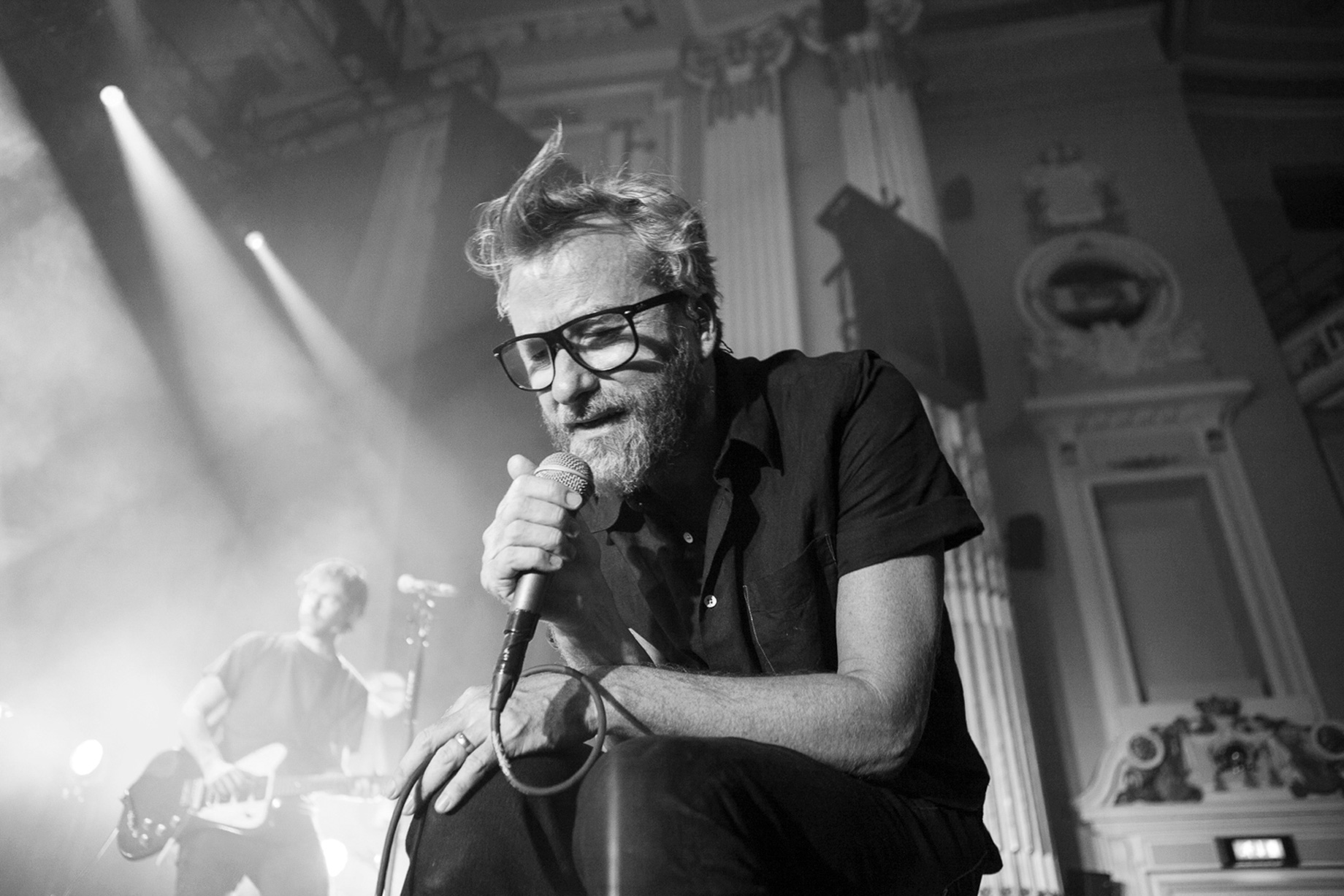 Matt Berninger, The National, Usher Hall, Edinburgh, 2017